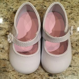 Baby Deer Other - White Patent Leather Baby Girl Shoes
