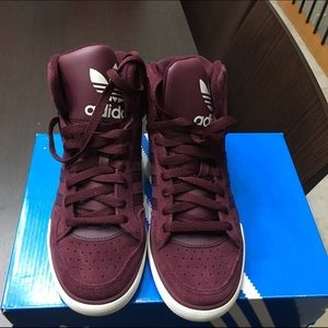 Adidas Shoes - Adidas suede high top sneaker