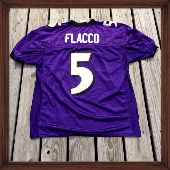 cheaper c0f2b 710f6 NFL Authentic Reebok Ravens Joe Flacco Jersey NWT