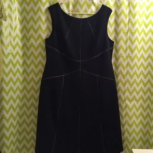 Navy Calvin Klein dress