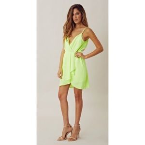 Line & Dot Dresses & Skirts - Line & Dot Neon Dress