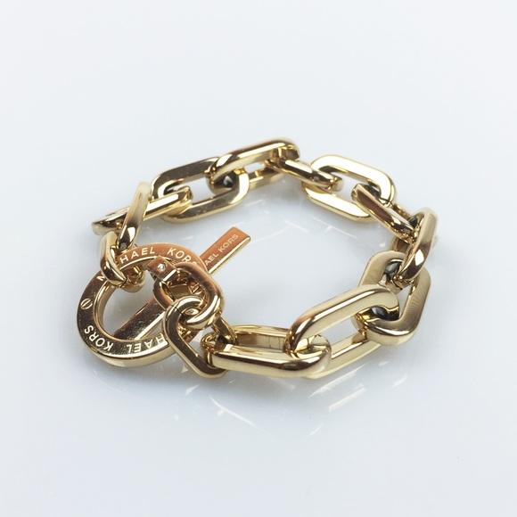 4244b376d38e Michael Kors Jewelry | Cityscape Link Toggle Bracelet | Poshmark