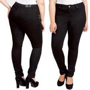 YMI Jeans Plus Size Skinny Black