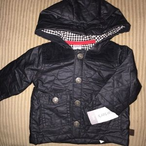 Carter's Jackets & Coats - Carter's Boys 3 months quilted cardigan coat NWT