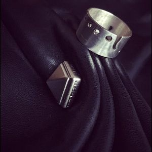 Awesome Thick Gage Cutout Sterling Silver Ring