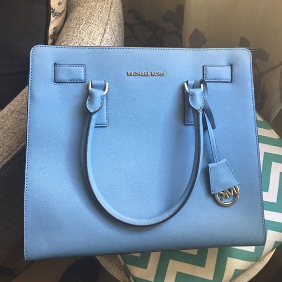34d8342593af Michael Kors Bags | Closet Closing Dillon Sky Blue | Poshmark