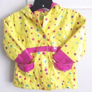 Western Chief Other - Yellow Polka Dot Rain Coat sz 4T
