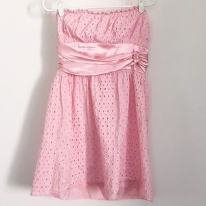 Dresses & Skirts - $3 Bundle Sell Off-Pink strapless dress