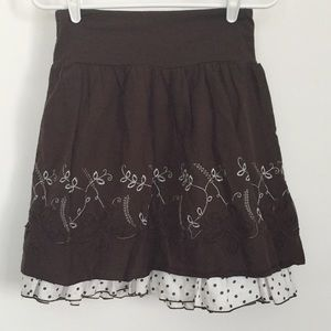Dresses & Skirts - Brown skirt
