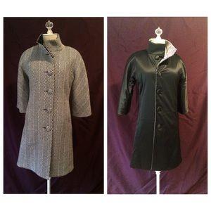 Isaac Mizrahi reversible coat