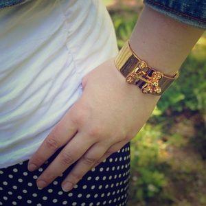 Eddie Borgo Jewelry - ⬇ Eddie Borgo Gold Ball Latch Cuff