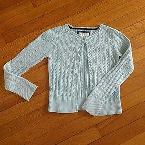 GAP Other - Gap girls light blue cardigan sweater