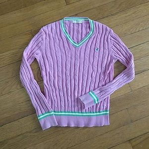 Old Navy Other - Cute Old Navy preppy pink sweater