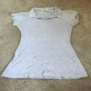 Grey polo shirt size M