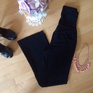 Liz Lange Pants - Liz Lange maternity black dress pants