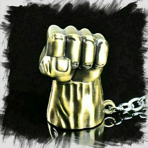 Jewelry - Avengers Collectors Bronze Fist Keyring