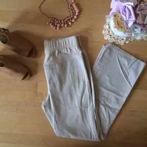 Motherhood maternity size s khaki pants