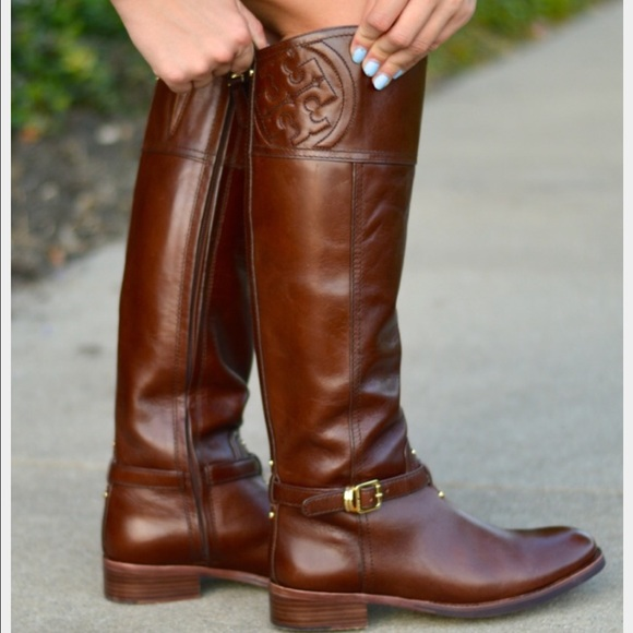 282f8d6b7df0 Sale ! Tory Burch Marlene Riding Boots. M 57e0234f5a49d0feb8006e72