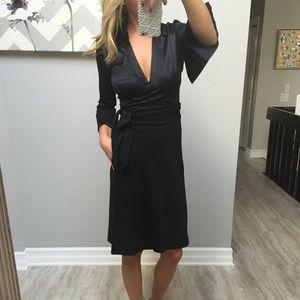Diane von Furstenberg Dresses & Skirts - DVF limited black silk wrap dress 2