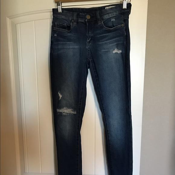 17fed805cbb9ac Blank NYC Jeans | Blanknyc Hotel Distressed Skinny Blue | Poshmark