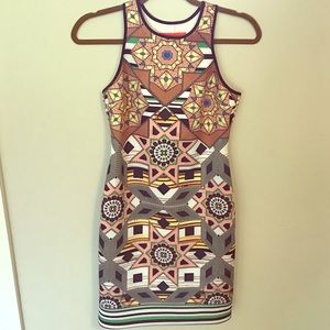 Clover canyon beautiful print dress!