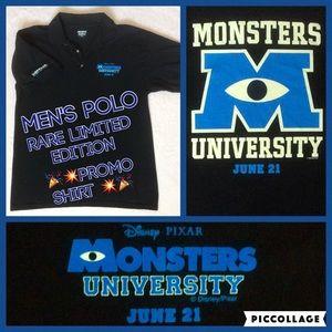 Disney Pixar Monster's U Rare Promo Shirt 