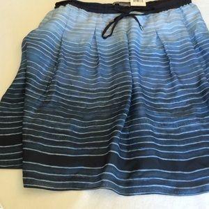 XS Vince blue skirt