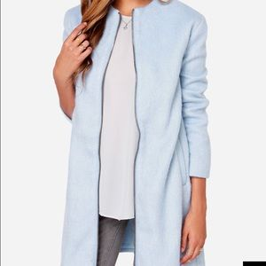 BB Dakota Liezel light blue coat XS