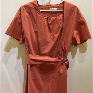 Acne Dresses & Skirts - Acne Orange Dress 36 with Belt