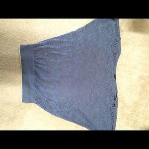 Blur transparent  pullover