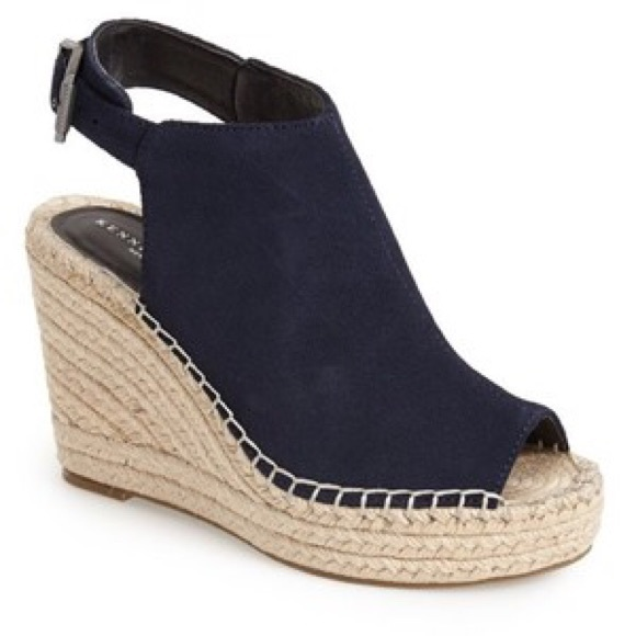 7cdc7a1f0438 Kenneth Cole Shoes - Kenneth Cole Olivia Espadrille Wedge Sandals