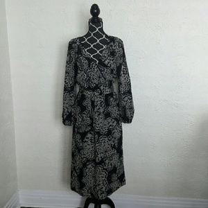 Presley Skye Silk Crepe de Chine Dress