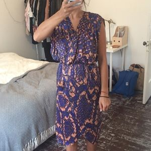 T-Bags Dresses & Skirts - TBags New Silk Wrap Dress