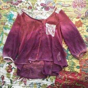 Tops - Ombré Shirt