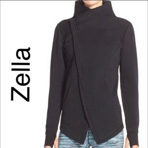 New Zella Asymmetrical Zip Sweat Jacket ☃