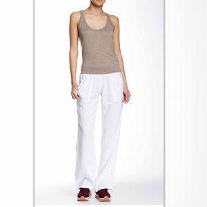 Allen Allen Pants - 💄Allen Allen White Linen pant 💄