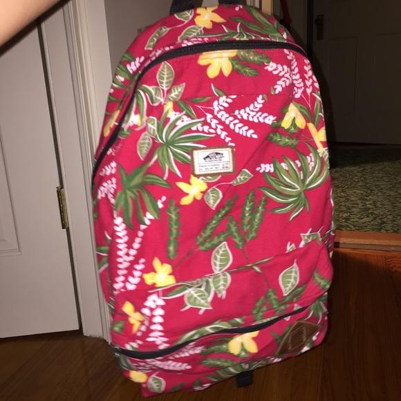 922244e582 Vans Hawaiian Print Backpack. M 57e057a57fab3ae42800334b