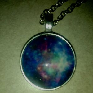 Me Jewelry - Galaxy Space Pendant Necklace
