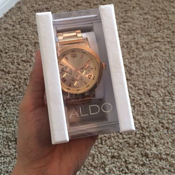 6e884c1213e Aldo Accessories | Rose Gold Watch | Poshmark