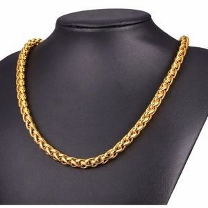 Other - 9MM new 18K gold chain for men