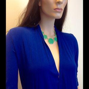 Soma Other - Comfy SOMA cotton knit cardigan cobalt blue