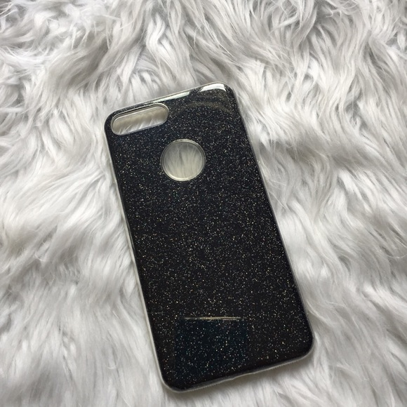 black glitter case iphone 7