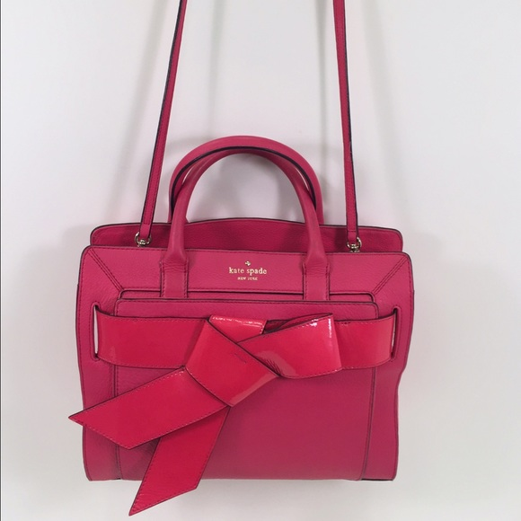 31% off kate spade Handbags - Authentic Kate Spade Pink Bow Valley ...