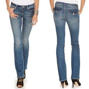 🆕INC Curvy Fit Boot Leg Jeans sz 0