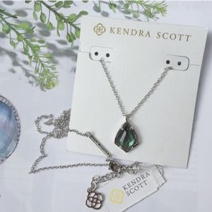 Kendra Scott Cory/Blk Pearl Necklace. Price firm.