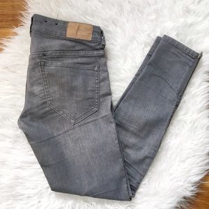H&M Denim - H&M moto skinnies