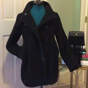 Urban Outfitters black pea coat - size medium💋💄