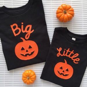 Other - Pumpkin Matching Sibling Shirts
