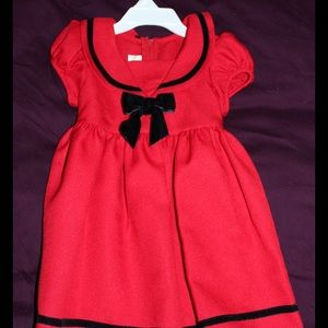 Ashley Ann Other - 3T Red Sailor Dress