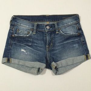 Citizens of Humanity Pants - [Citizens of Humanity] denim Jean shorts sz24